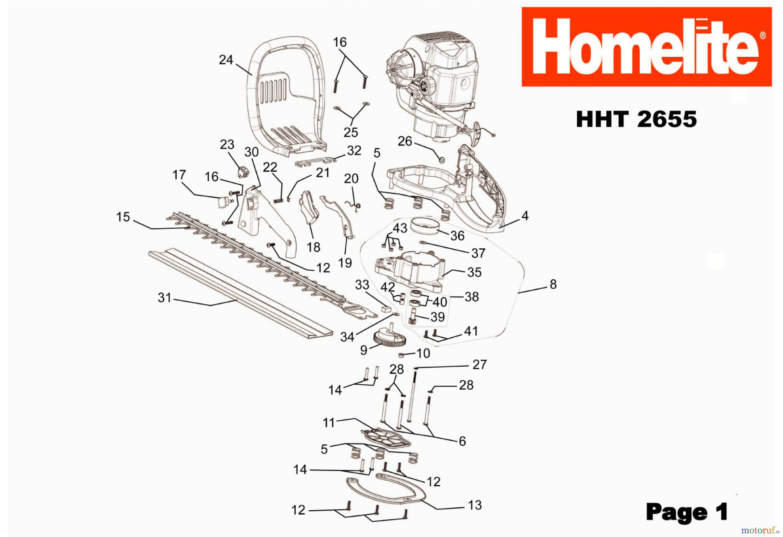 homelite leaf blower parts diagram homelite vac attack ii