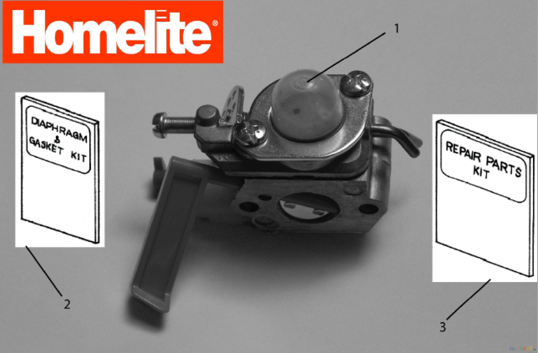 Ремонт homelite f2015