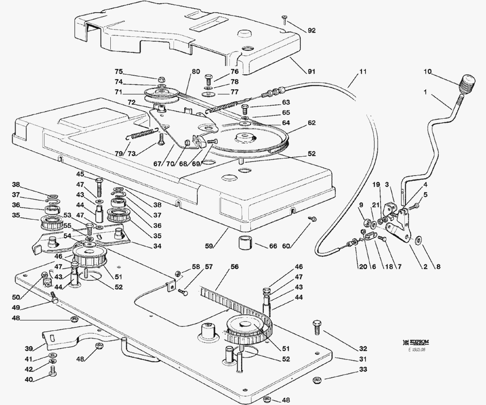 Chevrolet Hhr 2005 2006 Fuse Box Diagram as well Kohler Engine Courage Sv710 740 Parts Diagram together with Front Smart Turn Assembly also Kohler 17 Hp Parts Diagram additionally Rear Wheel  LELEU  reduction Gear  FA SA. on engine controls 9 32 19