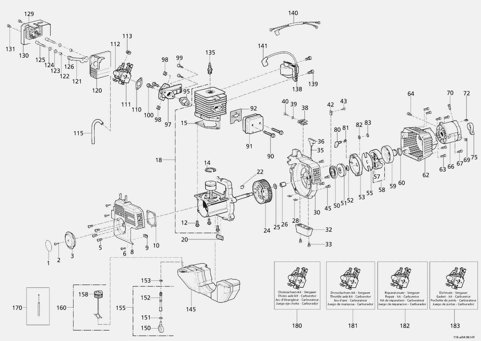 stihl ms250c parts diagram