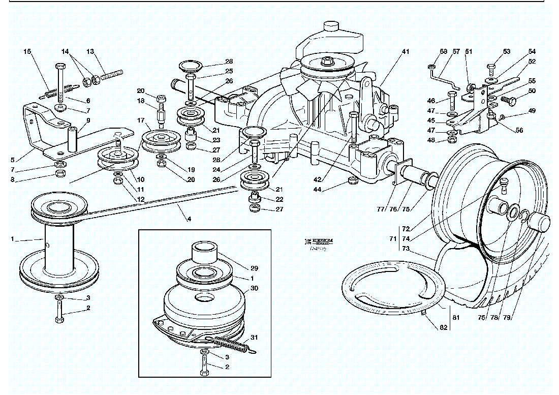 Parts For A Murray Riding Lawn Mower Rider Wiring Diagram Transmission Lawnmowers Snowblowers Rh Spartakirada Com Deck